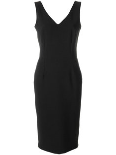 приталенное платье с V-образным вырезом  Styland