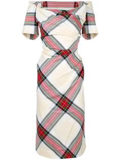 классическое платье в клетку Vivienne Westwood