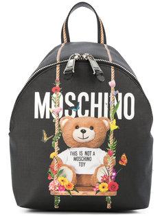 рюкзак с принтом медведя Moschino