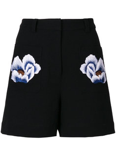 floral patch shorts Markus Lupfer