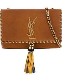сумка Kate с декоративной строчкой Saint Laurent