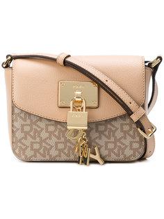 padlock flap shoulder bag DKNY