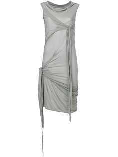 платье с запахом  Rick Owens DRKSHDW