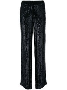 брюки прямого кроя P.A.R.O.S.H.