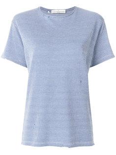 приталенная футболка в ломаную клетку  Golden Goose Deluxe Brand