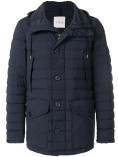 куртка-пуховик на пуговицах Moncler