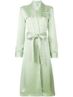 пальто в пижамном стиле  Off-White