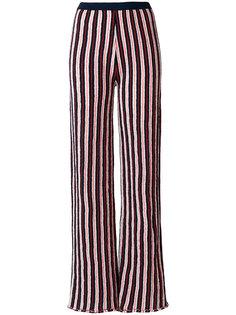 широкие брюки в полоску  Aviù