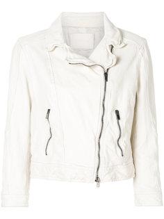 укороченная байкерская куртка  Drome