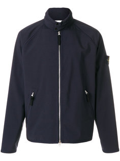 badge shell jacket Stone Island