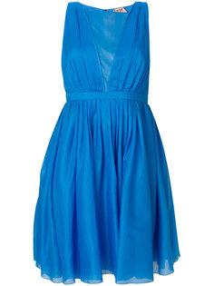 плиссированное расклешенное платье  Nº21