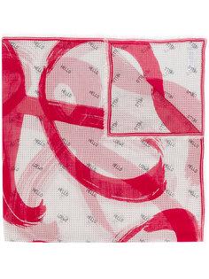 hello printed scarf Loewe