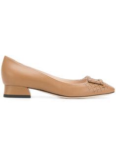 туфли с пряжками  Bottega Veneta