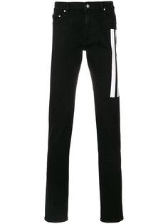 прямые джинсы в полоску Kenzo