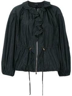 куртка с объемными рукавами и оборками Giambattista Valli