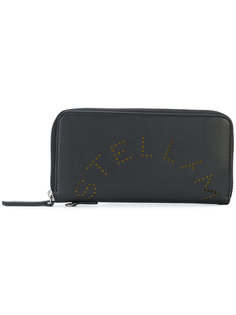 кошелек на молнии с логотипом  Stella McCartney