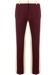 брюки со вставками  Valentino