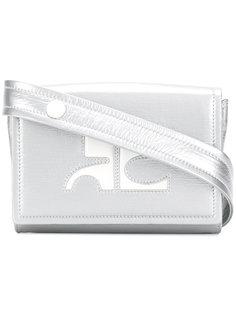 поясная сумка с логотипом Courrèges