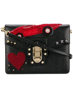 сумка Lucia с украшением из бусин Dolce & Gabbana