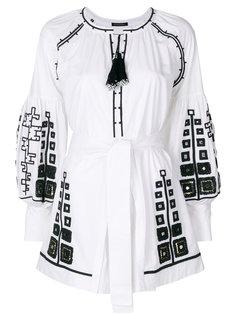 платье мини с вышивкой Mirrors Wandering