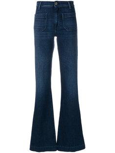 расклешенные джинсы с высокой талией The Seafarer