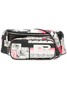 поясная сумка с принтом Prada