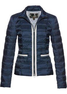 Куртка-пуховик с аппликацией (темно-синий) Bonprix
