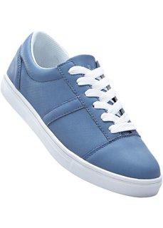 Кеды (синий джинсовый) Bonprix