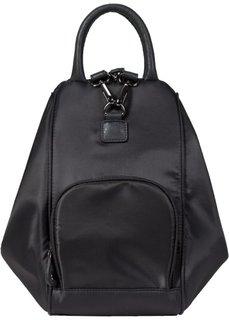 Сумка-рюкзак 2 в 1 (черный) Bonprix
