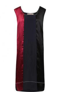Платье-миди свободного кроя без рукавов Marni