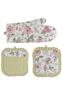 Набор: 2 прихватки и рукавицы FRESCA DESIGN