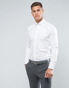 Узкая строгая рубашка Ted Baker - Белый
