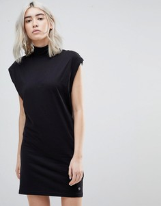 Платье с высоким воротом Cheap Monday - Черный