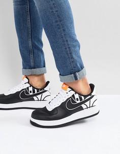 Черные кроссовки Nike Air Force 1 07 LV8 823511-011 - Черный