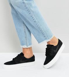 Черные высокие кроссовки Nike Sb Zoom Janoski - Черный
