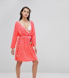Пляжное платье Pitusa Santorini - Розовый