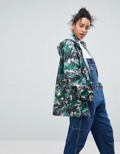 Куртка с камуфляжным принтом ASOS - Мульти