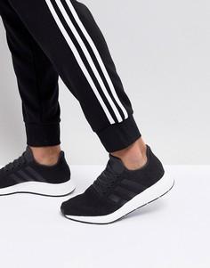 Черные кроссовки adidas Originals Swift Run CQ2114 - Черный