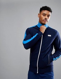 Темно-синяя спортивная куртка с высоким воротом Jack Wills Sporting Goods Harlington - Темно-синий