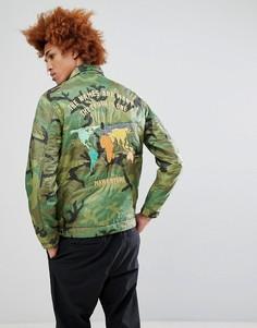 Куртка Maharishi World Tour - Коричневый