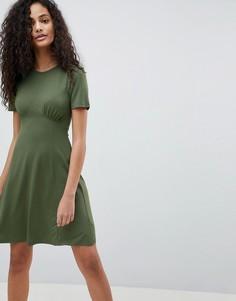 fce38f86ef2ac18 Короткие платья однотонные – купить короткое платье в интернет ...
