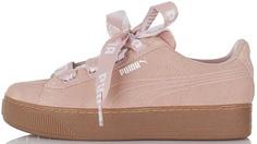 Кеды женские Puma Vikky Platform Ribbon Bold