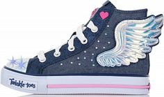 Кеды для девочек Skechers Shuffles-Fooling Flutters