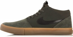 Кеды мужские Nike SB SolarSoft Portmore II Mid