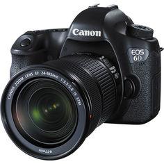Зеркальный фотоаппарат Canon EOS 6D Kit EF 24-105mm f/3.5-5.6 IS STM (черный)