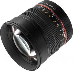 Объектив Samyang MF 85mm f/1.4 AS IF Canon EF