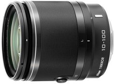 Объектив Nikon 10-100mm f/4.0-5.6 VR Nikkor 1 (черный)