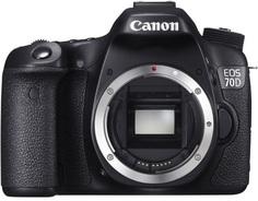 Зеркальный фотоаппарат Canon EOS 70D Body (черный)