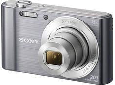 Цифровой фотоаппарат Sony Cyber-shot DSC-W810 (серебристый)