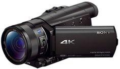 Видеокамера Sony FDR-AX100E 4K Ultra HD (черный)